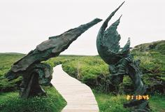 Meeting of Two Worlds - L'Anse Aux Meadows, Newfoundland